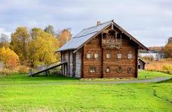 gammalt trä för hus Royaltyfri Fotografi