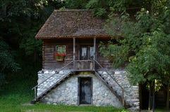 gammalt traditionellt för hus Royaltyfri Foto