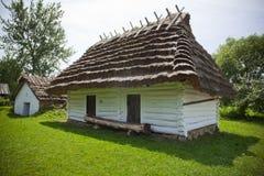 Gammalt traditionellt hus Royaltyfria Foton