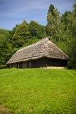 Gammalt traditionellt hus Arkivbilder