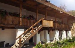 Gammalt traditionellt hus Arkivfoto