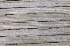 Gammalt tryck behandlade Wood makrotextur Fotografering för Bildbyråer