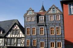 gammalt tyskt hus Arkivfoto