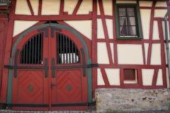 gammalt tyskt hus Fotografering för Bildbyråer
