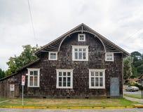 gammalt tyskt hus Arkivbild