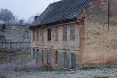 gammalt tyskt hus Royaltyfria Bilder