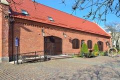 Gammalt tyskt lager Kaliningrad tidigare Koenigsberg, Ryssland Royaltyfri Bild