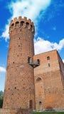 Gammalt tyskt slott i Polen Arkivbild