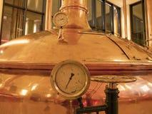 Gammalt utforma av brygga öl Royaltyfri Fotografi