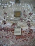 gammalt väggfönster Royaltyfri Fotografi