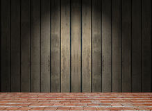 gammalt väggträ Arkivfoto