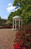 Gammalt väl på Chapel Hill, NC Arkivbild