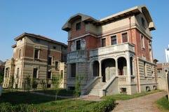 gammalt västra för hus Arkivbild