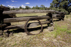 gammalt västra för lantgård Royaltyfri Foto