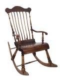 gammalt vaggande för stol arkivbild