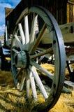 gammalt vagnhjul Royaltyfria Foton