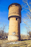 Gammalt vattentorn Royaltyfri Bild