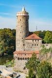 Gammalt vattentorn, Bautzen Royaltyfria Foton