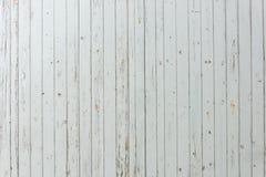 Gammalt vitt trä Fotografering för Bildbyråer