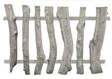 Gammalt wood staket Arkivbild