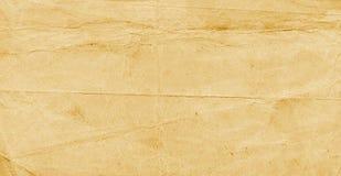Gammalt yelloweed papper Arkivfoto