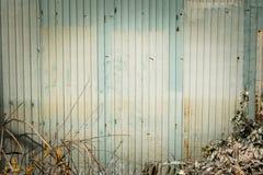 Gammalt zink och blad för bakgrund Royaltyfri Bild