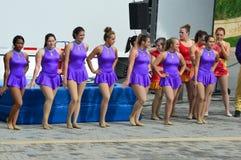 GammaPhi Circus aktörer Royaltyfria Bilder