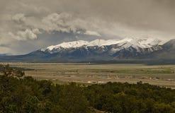 Gamme collégiale le Colorado Photographie stock