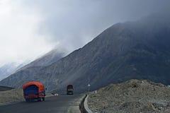 Gamme de montagne de Karakoram Photographie stock libre de droits