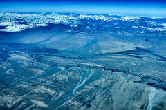 Gamme de montagne de Kulun Image libre de droits