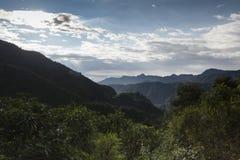 Gamme de montagne des Andes Image stock