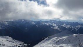 gamme de montagne française d'alpes Images libres de droits