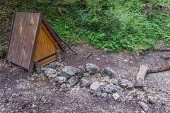 Gamme de montagne slovaque de paradis Images stock