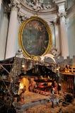 Gamme de produits de Noël dans San Giovanni dans Laterano Images stock