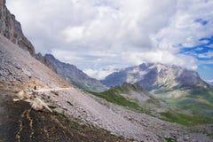 Gamme des montagnes Image libre de droits