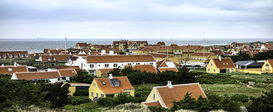 Gammel Skagen in the northern part of Denmark Royalty Free Stock Image