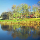 Gammelgarden svenskt museum - Minnesota Royaltyfria Bilder