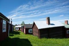 Gammelstad,吕勒奥,瑞典 图库摄影