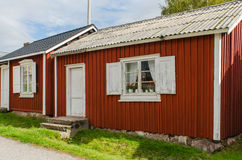 Gammelstad church town. In Sweden, cultural heritage royalty free stock images