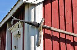 Gammelstad Church Town Stock Photo