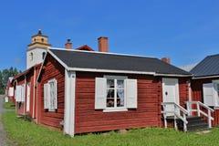 Gammelstad Church Town Stock Photos