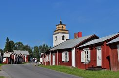 Gammelstad Church Town Stock Images
