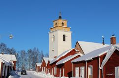 In Gammelstad Church Town Stock Photos