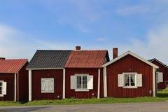 Gammelstad kościół miasteczko Fotografia Stock