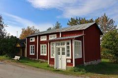 Gammelstad kościół miasteczko Obraz Royalty Free