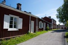 Gammelstad, Lulea, Suecia Imágenes de archivo libres de regalías