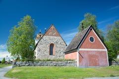 Gammelstad, Lulea, Suecia Foto de archivo libre de regalías