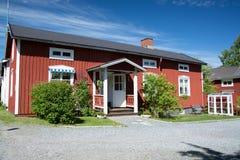 Gammelstad, Lulea, Suecia Fotos de archivo libres de regalías