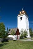 Gammelstad, Lulea, Svezia Fotografia Stock
