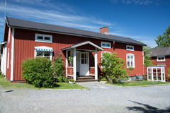 Gammelstad, Lulea, Svezia Fotografie Stock Libere da Diritti